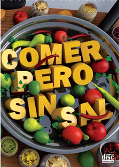 Comer, pero sin sal. (Ebook y Multimedia)