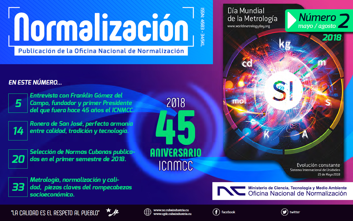Revista Normalización No. 2 / 2018. (Ebook)
