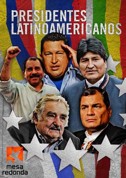 Presidentes latinoamericanos. (Video)